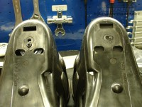Rear frame mounting holes